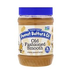 Peanut Butter & Co., Old Styleed Smooth، زبدة الفول السوداني الكريمية، 16 أونصة (454 غرام)