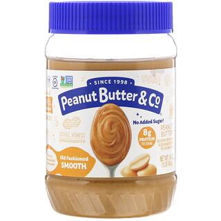 Peanut Butter & Co., زبدة الفول السوداني ناعمة تقليدية، 16 أونصة (454 جم)