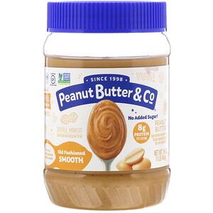 Пинат Баттэр энд Ко, Old Fashioned Smooth, Peanut Butter, 16 oz (454 g) отзывы покупателей