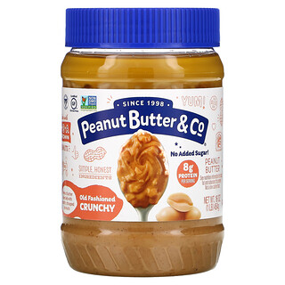 Peanut Butter & Co., Old Fashioned Crunchy, 100% natürliche knusprige Erdnussbutter, 16 oz (454 g)