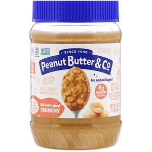 Пинат Баттэр энд Ко, Old Fashioned Crunchy, 100% Natural Crunchy Peanut Butter, 16 oz (454 g) отзывы покупателей