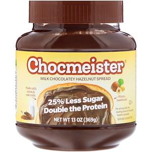 Пинат Баттэр энд Ко, Chocmeister, Milk Chocolatey Hazelnut Spread, 13 oz (369 g) отзывы покупателей