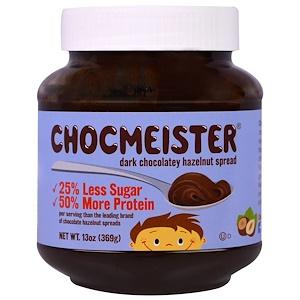 Пинат Баттэр энд Ко, Chocmeister, Dark Chocolatey Hazelnut Spread, 13 oz (369 g) отзывы покупателей