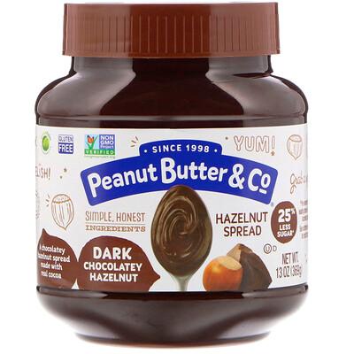 Peanut Butter & Co. Спред из фундука, темный шоколад и фундук, 369г (13унций)