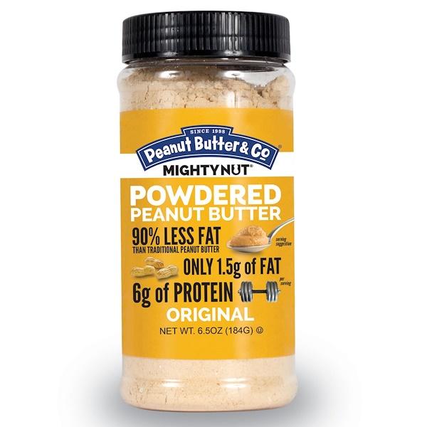 Peanut Butter & Co., Mighty Nut, Powdered Peanut Butter, Original, 6.5 oz (184 g)