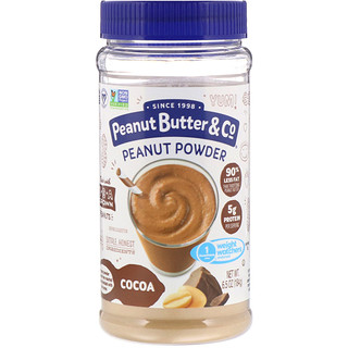 Peanut Butter & Co., Mighty Nut, Powdered Peanut Butter, Chocolate, 6.5 oz (184 g)