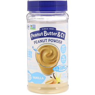 Peanut Butter & Co., Mighty Nut, Powdered Peanut Butter, Vanilla, 6.5 oz (184 g)