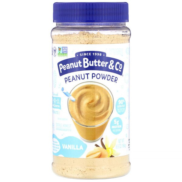 Peanut Butter & Co., Peanut Powder, Vanilla, 6.5 oz (184 g)