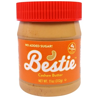 Peanut Butter & Co., Bestie, Cashew Butter, 11 oz (312 g)