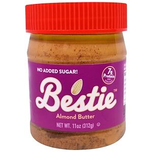 Пинат Баттэр энд Ко, Bestie, Almond Butter, 11 oz (312 g) отзывы покупателей
