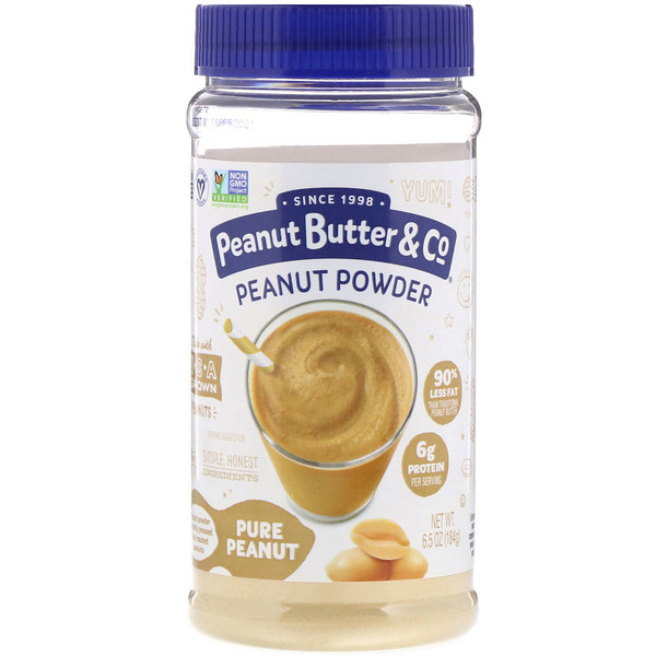 Peanut Butter & Co., Peanut Powder, Pure Peanut, 6.5 oz (184 g)