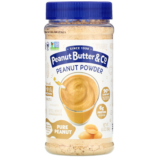 Peanut Powder, Pure Peanut, 6.5 oz (184 g)