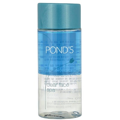 Pond's Clear Face Spa, Lip & Eye Make-up Remover, 120 ml