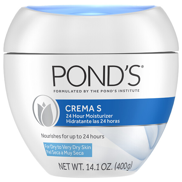 Pond's, Crema S, Hidratante 24 horas, 400 g