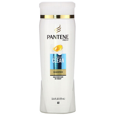Купить Pantene Pro-V, Classic Clean Shampoo, 12.6 fl oz (375 ml)