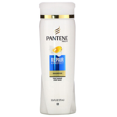 Купить Pantene Pro-V, Repair & Protect Shampoo, 12.6 fl oz (375 ml)