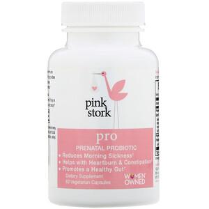 Pink Stork, Pro, Prenatal Probiotic, 60 Vegetarian Capsules отзывы