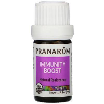 Купить Pranarom Essential Oil, Immunity Boost, .17 fl oz (5 ml)