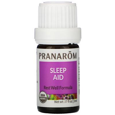 Pranarom Essential Oil, Sleep Aid, .17 fl oz (5 ml)