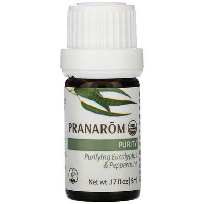 Купить Pranarom Essential Oil, Diffusion Blend, Purity, .17 fl oz (5 ml)