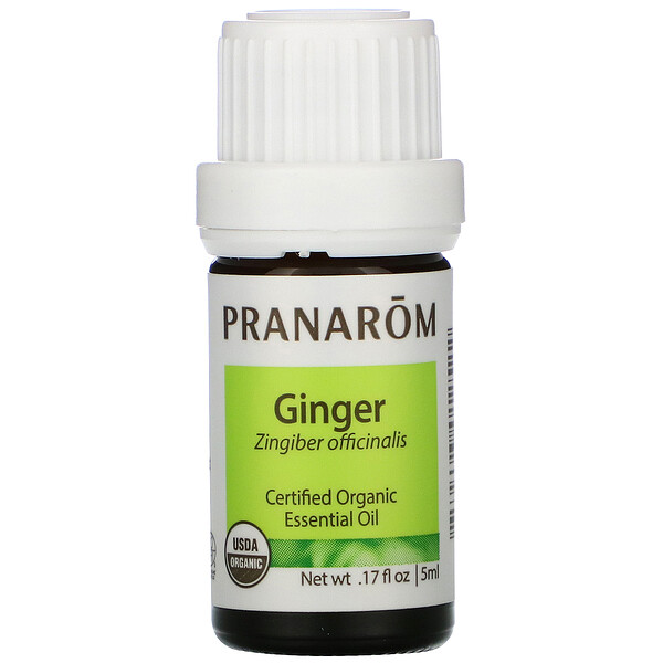 Essential Oil, Ginger, .17 fl oz (5 ml)