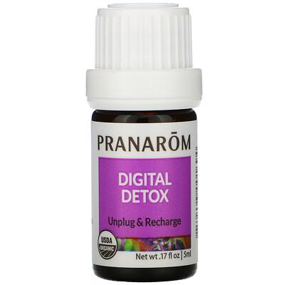 Купить Pranarom Essential Oil, Digital Detox, .17 fl oz (5 ml)