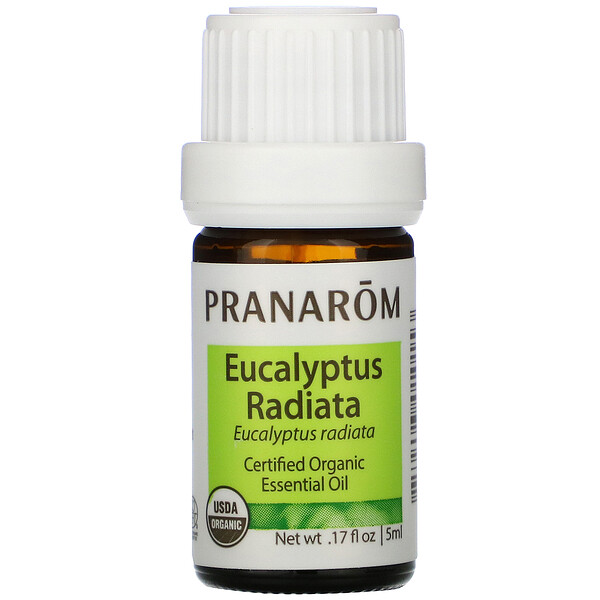 Pranarom, Essential Oil,  Eucalyptus Radiata, .17 fl oz (5 ml)