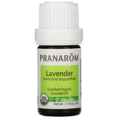Pranarom Essential Oil, Lavender, .17 fl oz (5 ml)