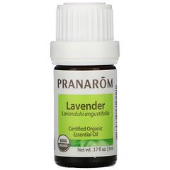 Pranarom, 精油, Lavender,0.17 盎司(5 毫升)