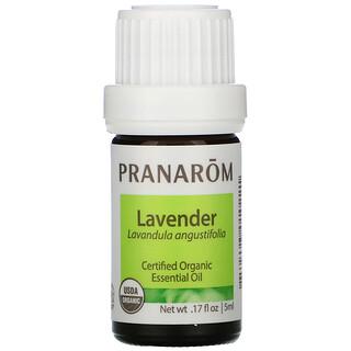 Pranarom, Essential Oil, Lavender,  .17 fl oz (5 ml)