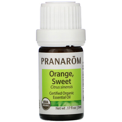 Купить Pranarom Essential Oil, Orange, Sweet, .17 fl oz (5 ml)