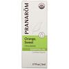 Pranarom, Essential Oil, Orange, Sweet, .17 fl oz (5 ml)