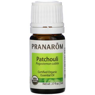 Pranarom, Essential Oil,  Patchouli, 0.17 fl oz (5 ml)