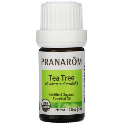 Купить Pranarom Essential Oil, Tea Tree, .17 fl oz (5 ml)