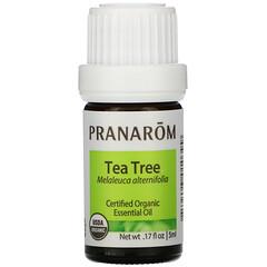 Pranarom, 精油,茶樹,0.17 液量盎司(5 毫升)