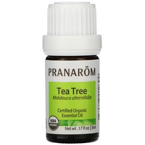 Pranarom, Essential Oil, Tea Tree, .17 fl oz (5 ml) отзывы