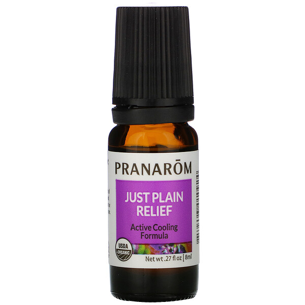 Pranarom, Essential Oil, Just Plain Relief, .27 fl oz (8 ml)