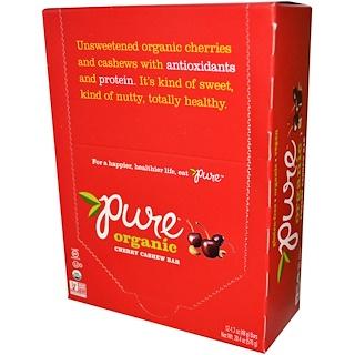 Pure Bar, Organic, Cherry Cashew, 12 Bars, 1.7 oz (48 g) Each