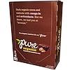 Pure Bar, Organic, Chocolate Brownie, 12 Bars, 1.7 oz (48 g) Each