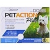 PetAction Plus, For Small Dogs, 3 Doses - 0.023 fl oz