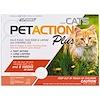 PetAction Plus, For Cats, 3 Doses - 0.017 fl oz Each
