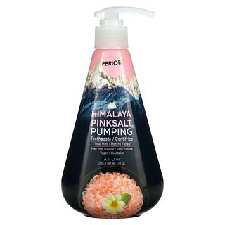 Perioe, Himalaya Pink Salt Pumping Toothpaste, Floral Mint, 10 oz (285 g)