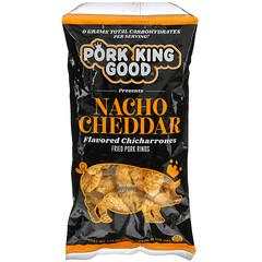 Pork King Good, 調味炸五花肉,納喬切達乳酪味,1.75 盎司(49.5 克)
