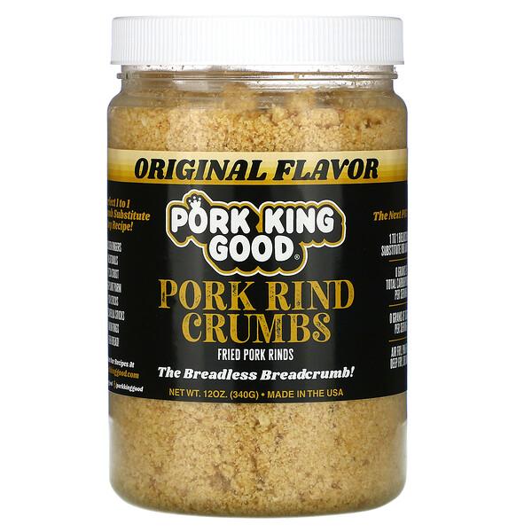 Pork Rind Crumbs, Original, 12 oz (340 g)