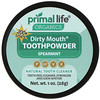 Primal Life Organics, Dirty Mouth Toothpowder, Spearmint, 1 oz (28 g)