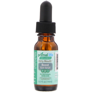 Primal Life Organics, Dirty Mouth Boost Gum Serum, 0.5 fl oz (14 ml)