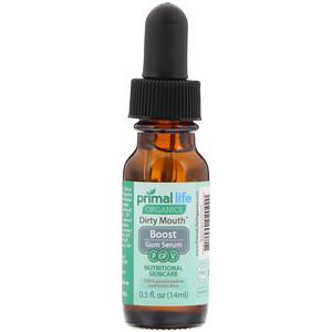 Primal Life Organics, Dirty Mouth Boost Gum Serum, 0.5 fl oz (14 ml) отзывы
