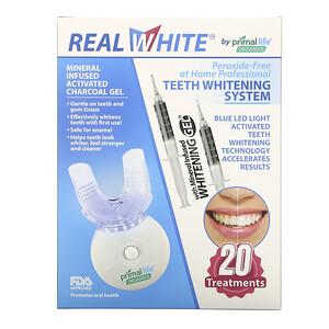 Primal Life Organics, Teeth Whitening System, Peroxide-Free, 20 Treatments отзывы