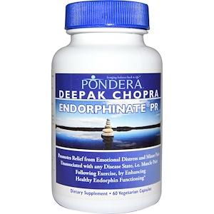 Pondera, Эндорфинат PR, 60 вегетарианских капсул инструкция, применение, состав, противопоказания