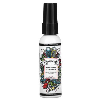 Poo-Pourri Shoe Odor Eliminator, Cedar, Eucalyptus and Citrus, 2 fl oz (59 ml)